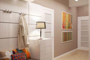 Прихожие для узких коридоров в квартире — дизайн, фото