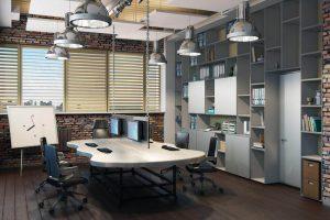 Обустройство офисных помещений